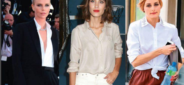 10 formas de llevar la camisa blanca esta temporada