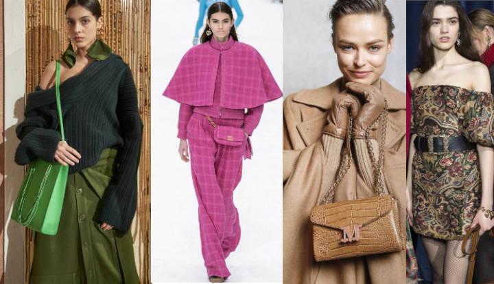 Amarillo, rosa, verde, camel…  los colores de este verano