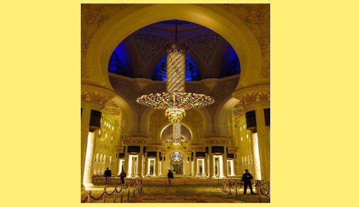 CAPITALES DE ASIA. ABU DHABI