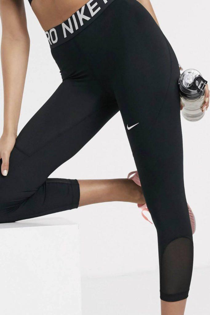 Leggings con transparencia de Nike