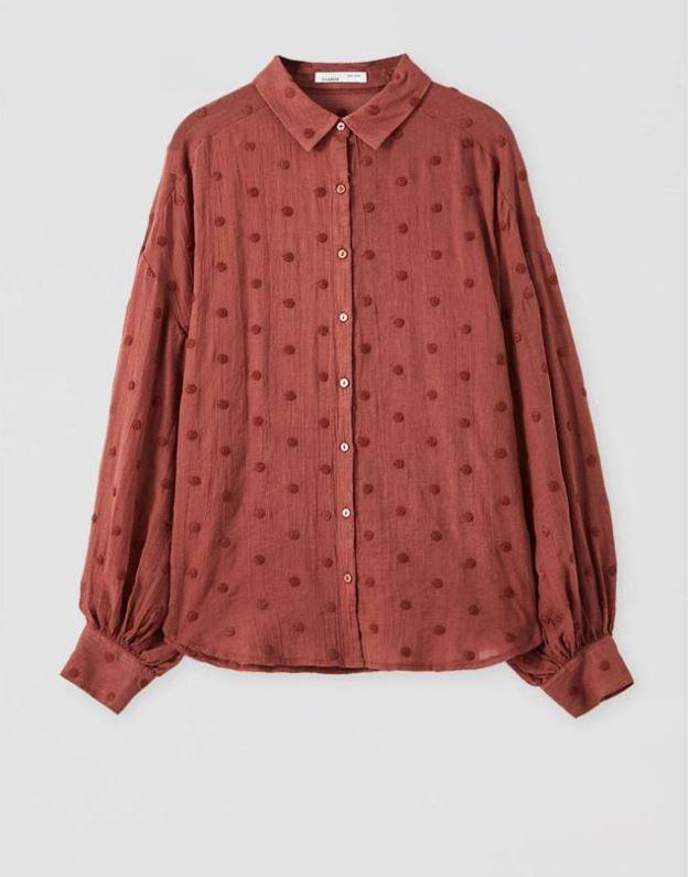 Camisa de plumeti