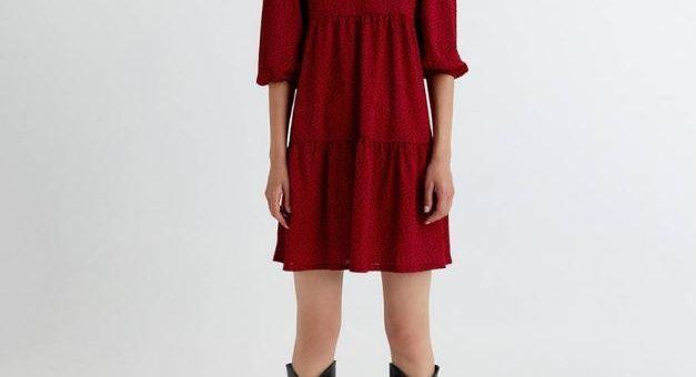 Vestidos cortos de Sfera por menos de 40 euros para llevar cuando haga frío