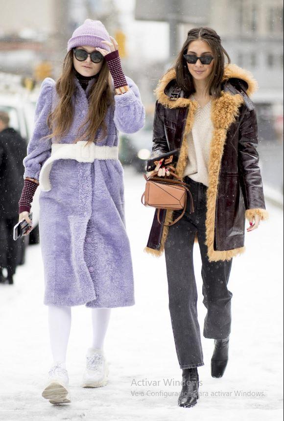 Cómo vestir bien cuando hace frío: medias
