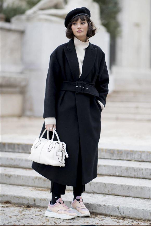 Cómo vestir bien cuando hace frío: boina francesa
