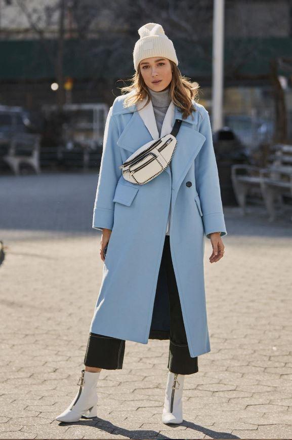 Cómo vestir bien cuando hace frío: doble abrigo