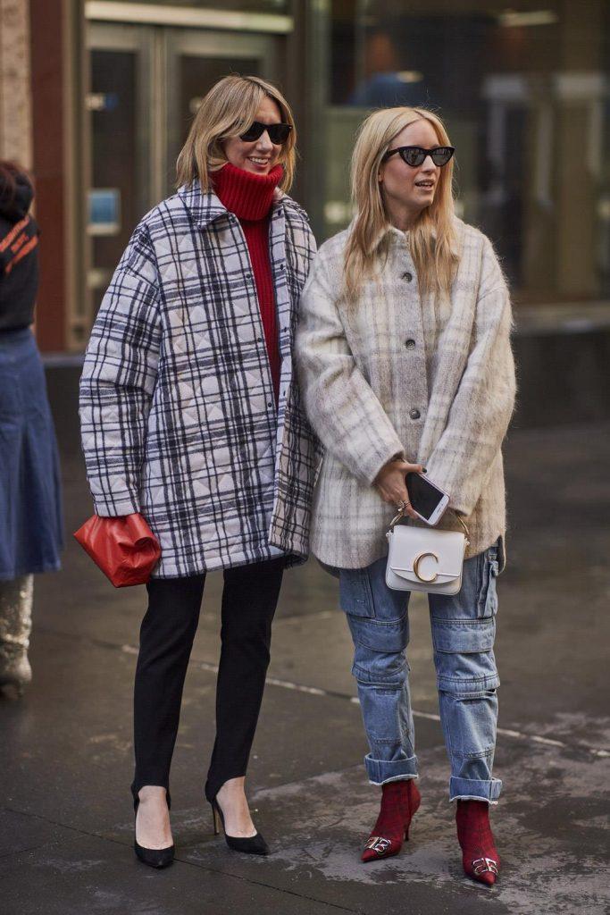 Cómo vestir bien cuando hace frío: siluetas amplias vs. Ajustadas