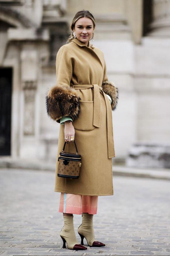Cómo vestir bien cuando hace frío: botines calcetín