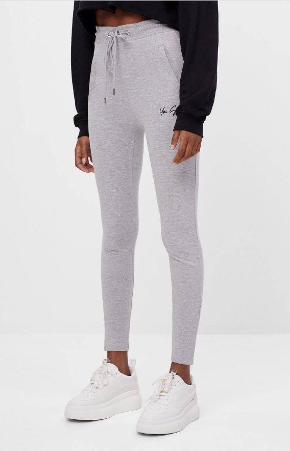 Pantalón legging felpa