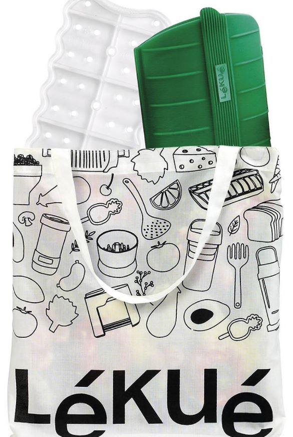 Kit de accesorios ecológicos para la cocina