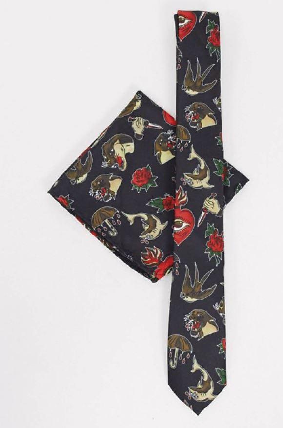 Corbata graciosa