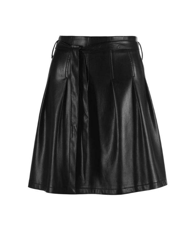 Falda de polipiel de C&A
